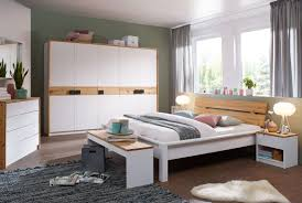 Schlafzimmer Kiefernholz Lorett Komplett Weiß Massivholz S02