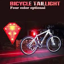 Lista K22 <b>8 LED</b> Bicycle Tail <b>Laser</b> Light: Amazon.in: Sports, Fitness ...