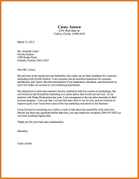 Simple Cover Letter Examples Choice Image Letter Samples Format