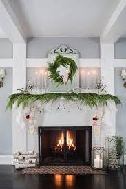 how to arrange birch logs in fireplace ideas