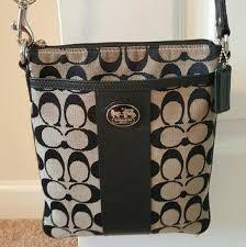 Authentic Coach Legacy Swingpack Crossbody Purse