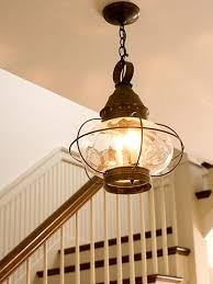 cottage style lighting. Boat-Style Light Fixtures Reminiscent Of A Bygone Era Give This Newer  House Character. The Reproduction Cast-iron Light In The Foyer Is Similar To Cottage Style Lighting R