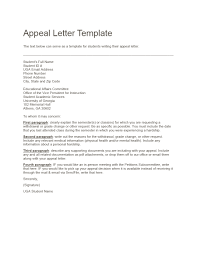 Writing An Appeal Letter 43 Effective Appeal Letters Financial Aid Insurance Academic