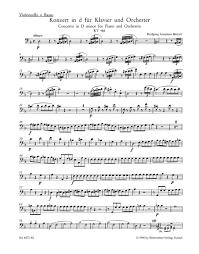 Mozart: Piano Concerto No. 20 in D Minor, K. 466 - Ficks Music