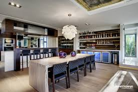 Kitchen Dining Table Eco Friendly Modern Home In Tandridge England