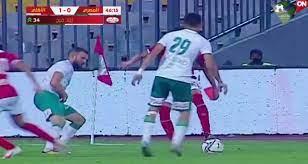 أهداف مباراة الأهلي والمصري (2-0) اليوم في الدوري الممتاز