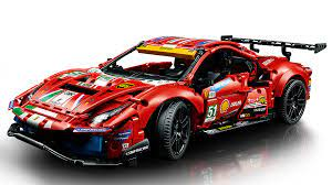 Find deals on lego ferrari 488 in building blocks on amazon. Ferrari 488 Gte Af Corse 51 42125 Technic Buy Online At The Official Lego Shop Us
