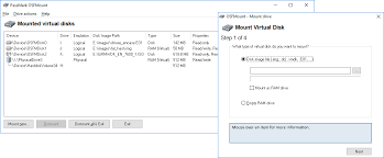 OSFMount - Mount Disk Images & Create RAM Drives