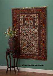 how to hang a rug