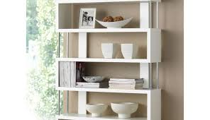 reclaimed hung white wall bookshelf wooden hutch kitchen shelving box shelves small shelf cabinet type exciting