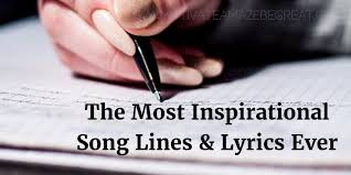 Quotes From Rap Songs Mesmerizing 48 Most Inspirational Song Lines And Lyrics Ever Motivate Amaze Be