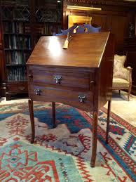 antique edwardian gany drop front bureau by lovelytradings