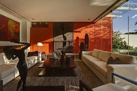 Burnt Orange And Brown Living Room Concept Cool Decorating