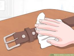 image titled soften a leather belt step 3