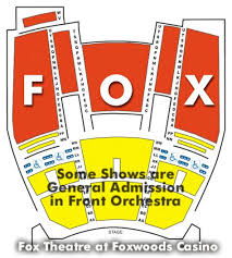 Fox Theater Foxwoods Seating Chart New Mgm Grand Ct Seating