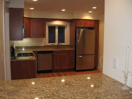 image of amazing kitchen cabinet colors with stainless steel appliances