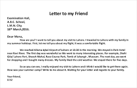 Proper Letter Format Personal How To Write A Personal Letter With Examples Examples