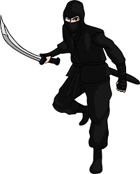 ninja clipart black and white. Perfect And Free By Gdj Printables Pinterest Explore Images Ninjas Inside Ninja Clipart Black And White P