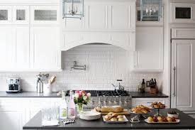 Subway Tile Kitchen Backsplash White Subway Tile Kitchen Backsplash Ideas Tile Designs