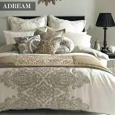 duvet cover sets bedding set duvet cover set style cream home textiles pillowcase queen king bed