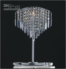 chandelier table lamps divinodessert com within crystal decorations 9