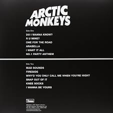 Cd Song List Arctic Monkeys Am Is The Years Biggest Selling Vinyl