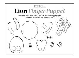 Lion Finger Puppet Ichild