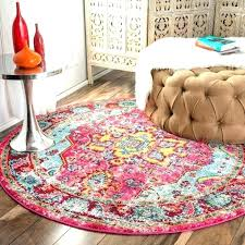 round rugs for living room area best ideas on small the curated nomad abstract