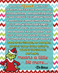 the grinch who stole christmas quotes.  The Perhaps Christmas Means Something Moreu2026 Movie Quotes Several  Free Printables To The Grinch Who Stole Quotes 2
