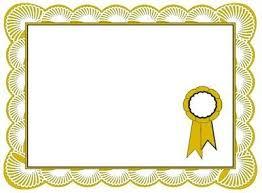 diploma border template certificate border design with ribbon cortezcolorado net