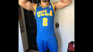 ball ucla jersey. liangelo ball flexing his new colors ucla jersey h