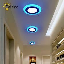 Tsleen Hiện Đại Đèn LED Âm Trần Phòng Khách Từ Xa Nhóm Điều Khiển Âm Trần  Đổi Màu Nhà Đèn Ốp Trần Đèn LED Ánh Sáng|