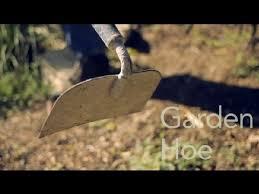 a garden hoe garden tool guides