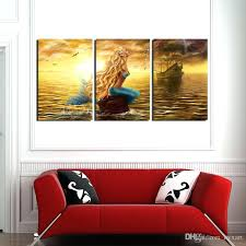 mermaid canvas art mermaid canvas wall art 3 panels abstract canvas art paintings print on canvas mermaid canvas art