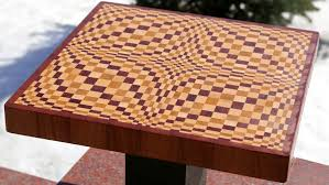 Cutting Board Patterns Simple Making A Wave 48D End Grain Cutting Board YouTube