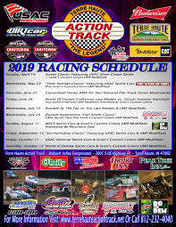 terre haute action track releases action packed 2019 schedule