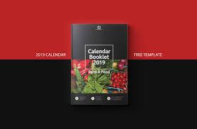 Designing A Calendar In Indesign Free Calendar 2019 Indesign Template On Behance