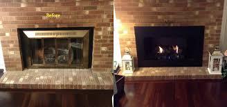 glass fireplace doors save energy