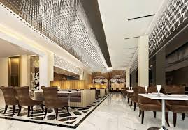 China modern restaurant interior design image