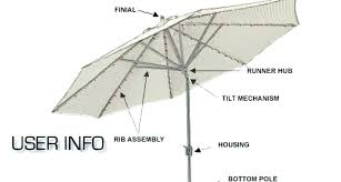 replacement umbrella pole o umbrella replacement bottom pole awesome umbrellas parts home outdoor repair lovely o