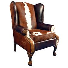 Leather Wingback Chair For Sale Western Leather Furniture Cowboy Furnishings From Lones Star