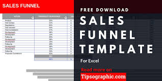 Sales Funnel Template For Excel Free Download Project