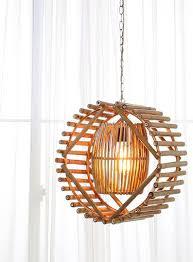 Arturest Handgemaakte Bamboe Hanglamp Wiel Stijl Lamp Etsy