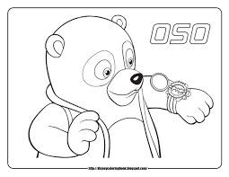Small Picture Special Agent Oso 1 Free Disney Coloring Sheets Learn To Coloring