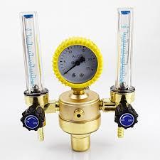 welding gas flow meter. warrior dual tube argon regulator gas flowmeter for tig welding machines flow meter