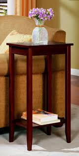 Rosewood Bedroom Furniture Amazoncom Dhp Rosewood Tall End Table Kitchen Dining