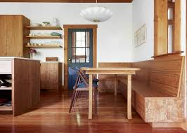 favorite dining booth courtesy. A Custom-built Cherry Booth In The Oakland, California, House Of  Photographer Aya Favorite Dining Courtesy