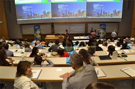 york university. participants gathered for the forum, which was hosted by york university f