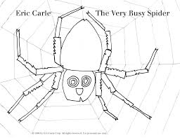 Small Picture the very busy spider coloring page Literacy Activities for Kids