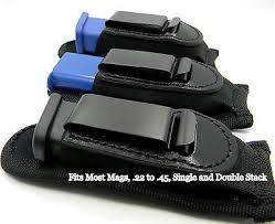 Clip On Magazine Holder INSIDE PANTS IWB CLIPON SINGLE MAGAZINE HOLDER for 100 100 100 100 35